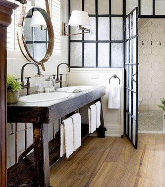 Industrial Farmhouse Bathroom Reveal 09
