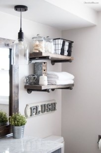 Industrial Farmhouse Bathroom Reveal 11