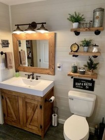Industrial Farmhouse Bathroom Reveal 19