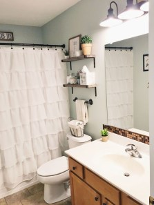 Industrial Farmhouse Bathroom Reveal 20