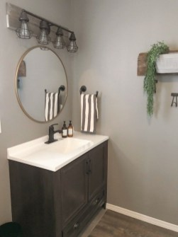 Industrial Farmhouse Bathroom Reveal 32