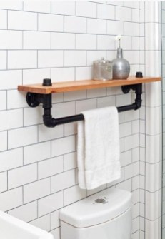 Industrial Farmhouse Bathroom Reveal 33