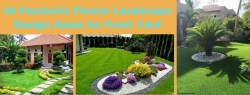 40 Fantastic Flower Landscape Design Ideas for Front Yard