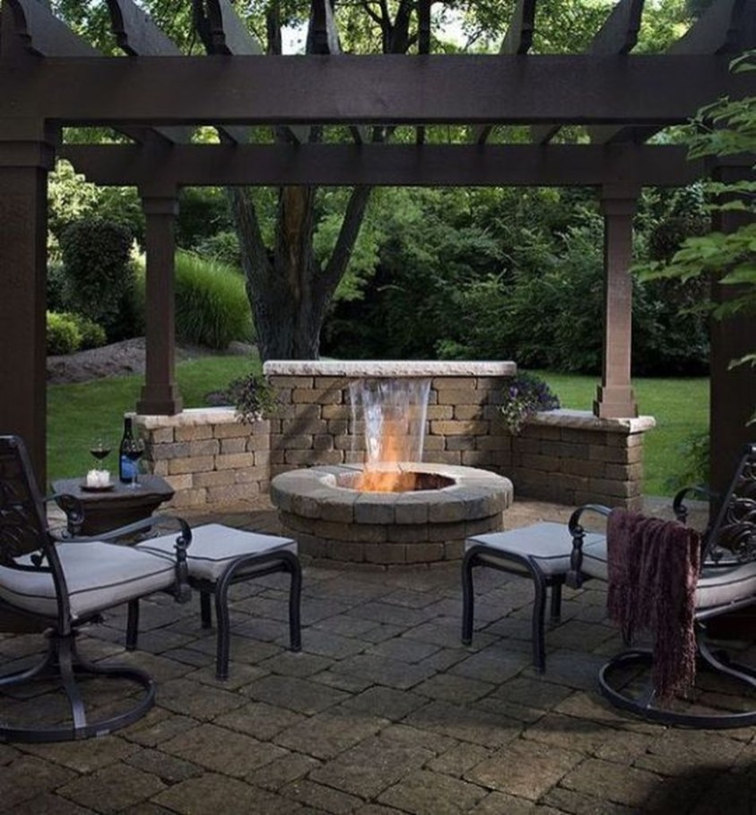 Amazing DIY Fire Pit Idea For Cold Day 01
