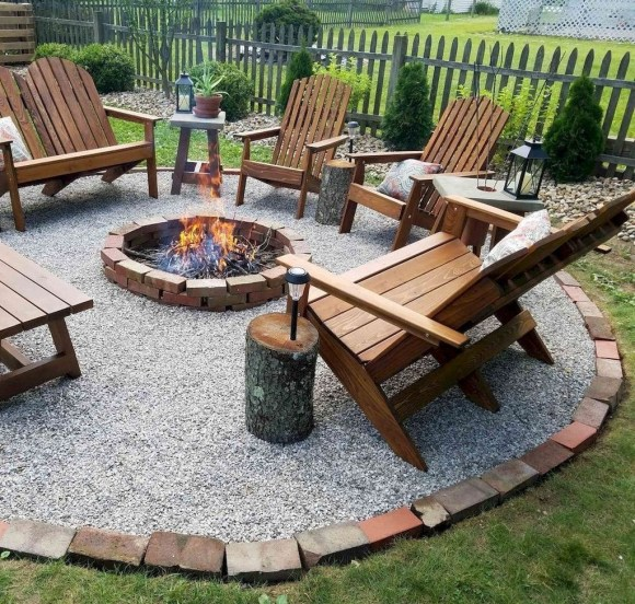 Amazing DIY Fire Pit Idea For Cold Day 10