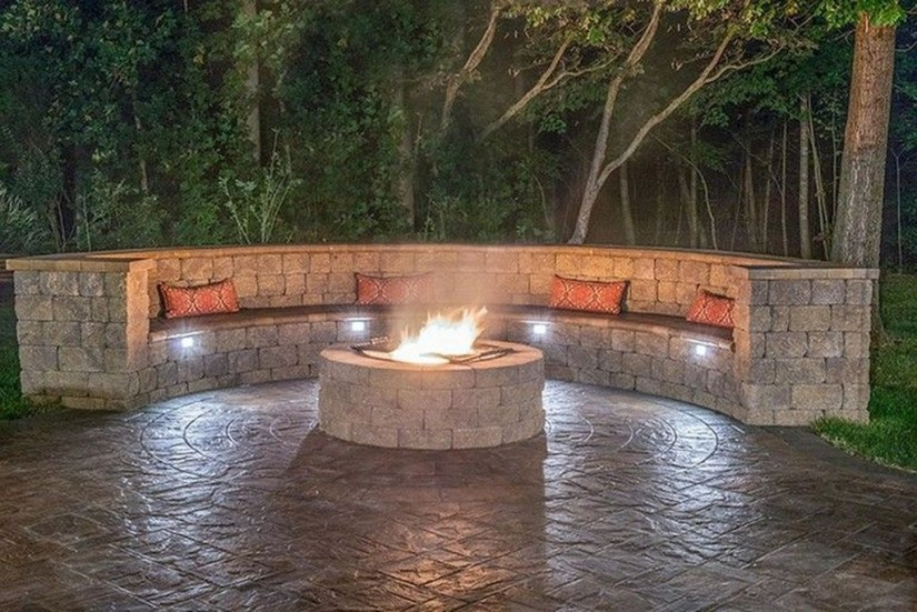 Amazing DIY Fire Pit Idea For Cold Day 13