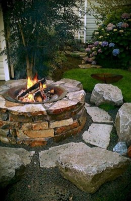 Amazing DIY Fire Pit Idea For Cold Day 23