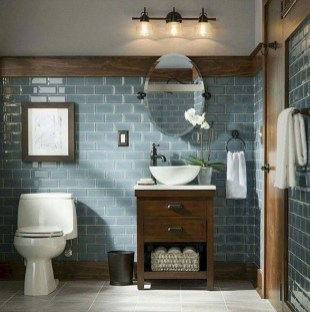 Amazing Farmhouse Bathroom Decor For Small Space 06