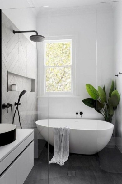 Amazing Farmhouse Bathroom Decor For Small Space 25