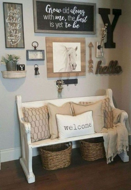 Amazing Farmhouse Wall Decoration Everyone Will Love 40