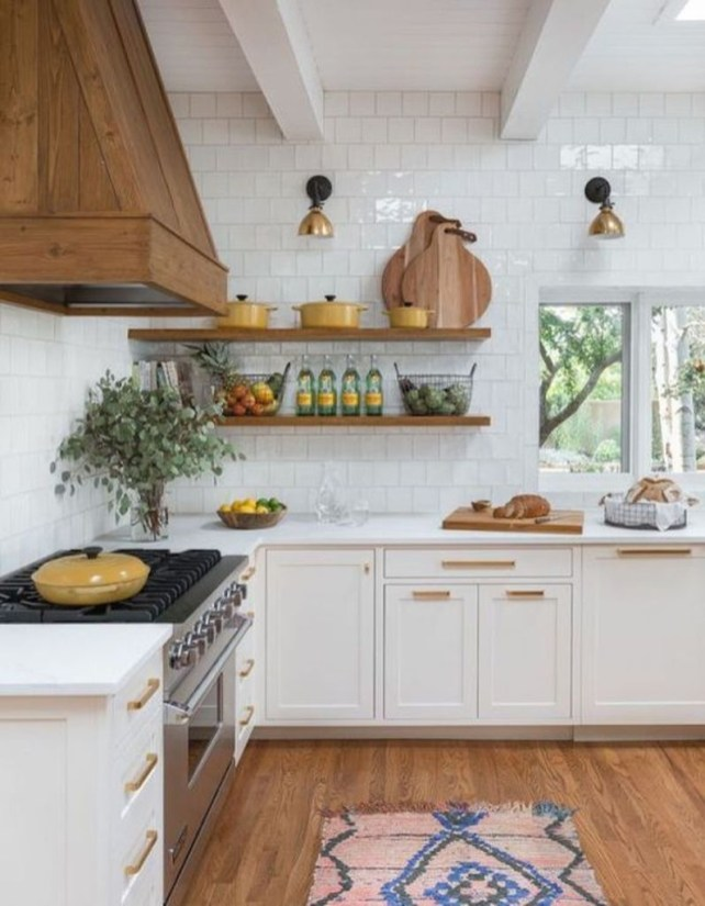 Amazing Modern Farmhouse Kitchen Decoration For Small Space 07