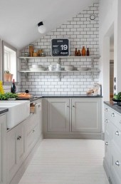 Amazing Modern Farmhouse Kitchen Decoration For Small Space 15