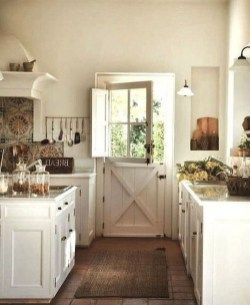 Amazing Modern Farmhouse Kitchen Decoration For Small Space 21