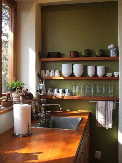 Amazing Modern Farmhouse Kitchen Decoration For Small Space 22