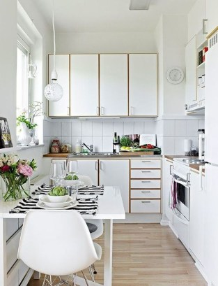 Amazing Modern Farmhouse Kitchen Decoration For Small Space 24