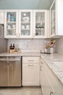 Amazing Modern Farmhouse Kitchen Decoration For Small Space 26