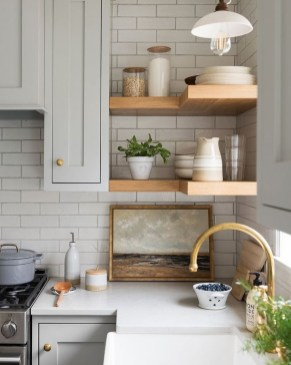 Amazing Modern Farmhouse Kitchen Decoration For Small Space 39