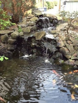 Awesome DIY Ponds Ideas With Small Waterfall 12