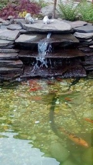 Awesome DIY Ponds Ideas With Small Waterfall 13