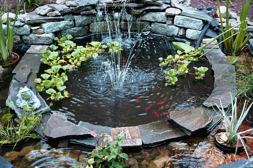 Awesome DIY Ponds Ideas With Small Waterfall 21