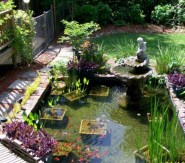 Awesome DIY Ponds Ideas With Small Waterfall 40