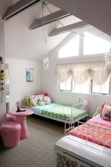 Awesome Dorm Room Decoration With Double Bed 26