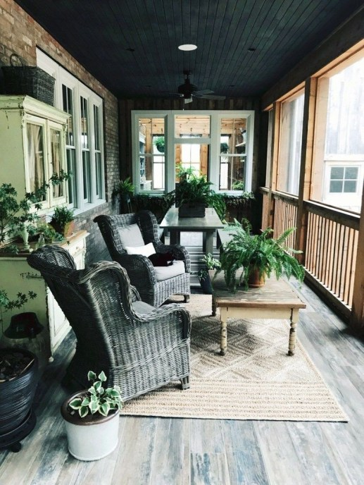 Best Front Porch Decor For Relax Place 05