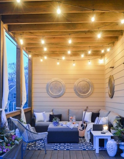 Best Front Porch Decor For Relax Place 16
