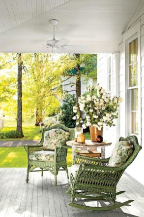 Best Front Porch Decor For Relax Place 25