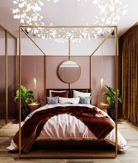 Clever Bedroom Lighting For Big Space 11