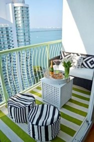 Comfy Small Seating Area In Your Balcony 13