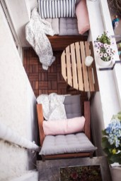 Comfy Small Seating Area In Your Balcony 21