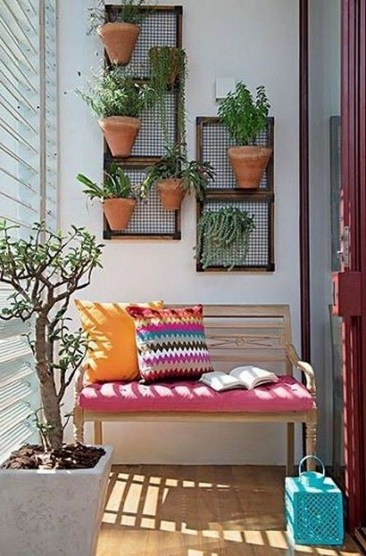 Comfy Small Seating Area In Your Balcony 30