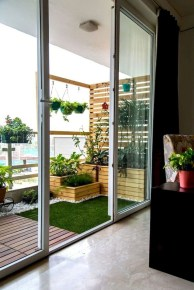Cozy Garden Balcony Design And Inspiration 08