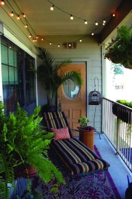 Cozy Garden Balcony Design And Inspiration 09