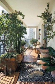 Cozy Garden Balcony Design And Inspiration 24