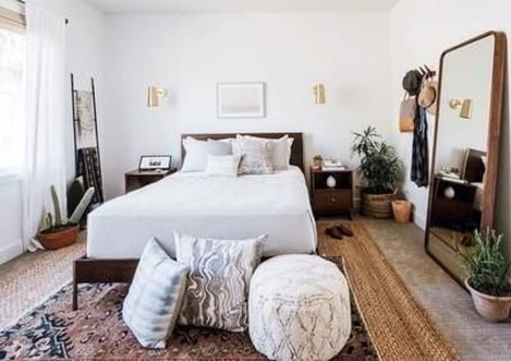 Easy Tips To Decorate Small Master Bedroom With Neutral Color 17
