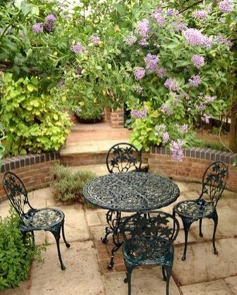 Fabulous Seating Area In The Garden 08