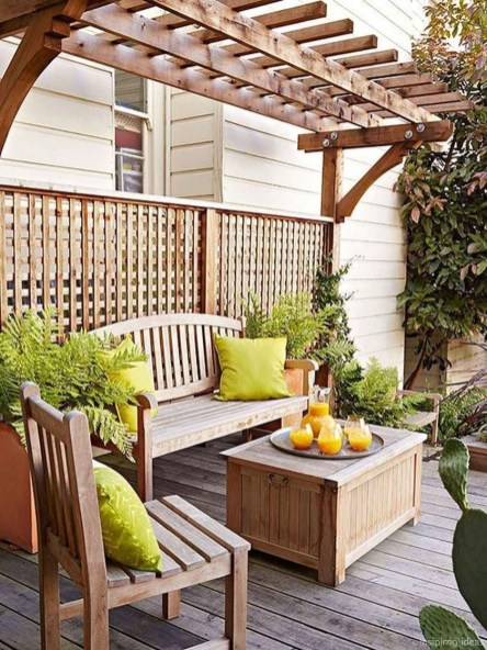 Fabulous Seating Area In The Garden 31