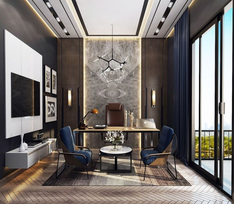 Fabulous Workspace Decor With Modern Style 11