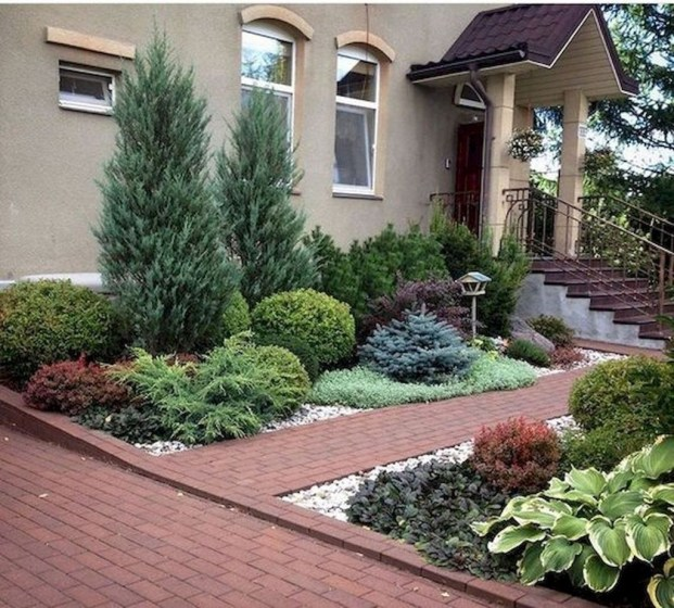 Fantastic Flower Landscape Design Ideas For Front Yard 30