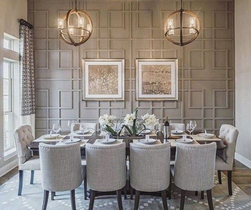 Inspiring Dining Room Table Design With Modern Style 08