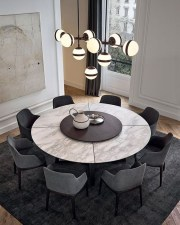 Inspiring Dining Room Table Design With Modern Style 11