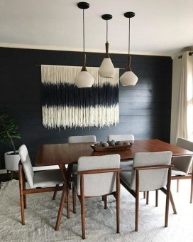 Inspiring Dining Room Table Design With Modern Style 33
