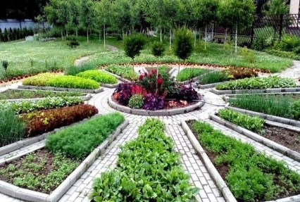 Inspiring Vegetable Garden Design For Your Backyard 36