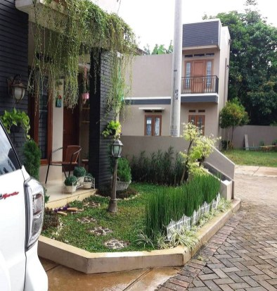 Perfect Bed Garden Design For Your Front Yard 01