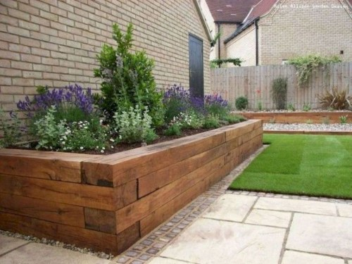 Perfect Bed Garden Design For Your Front Yard 28