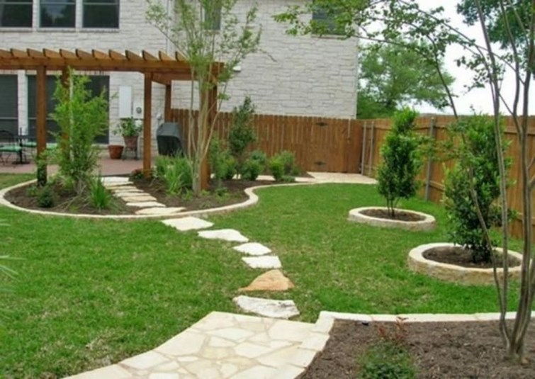 Simple But Beautiful Backyard Landscaping Idea On Budget 19