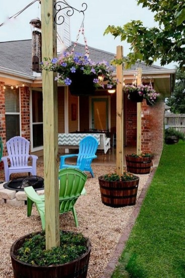 Simple But Beautiful Backyard Landscaping Idea On Budget 29
