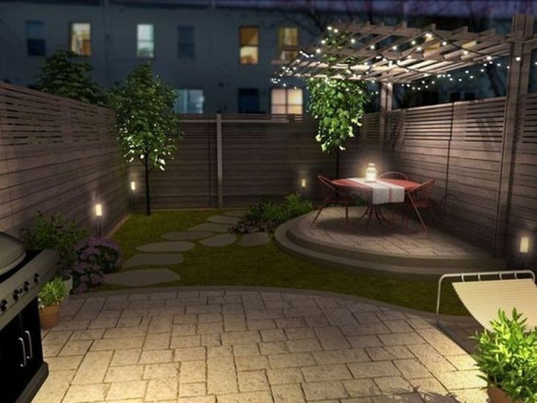 Simple But Beautiful Backyard Landscaping Idea On Budget 33